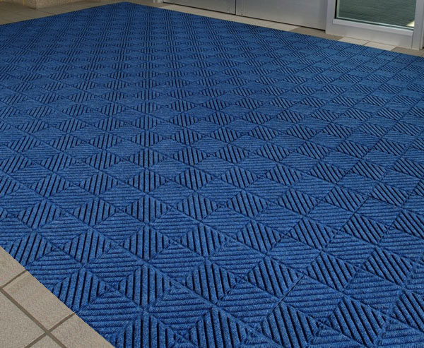 Waterhog Diagonal Floor Mat Tiles Are Recessed Floor Matting Tiles
