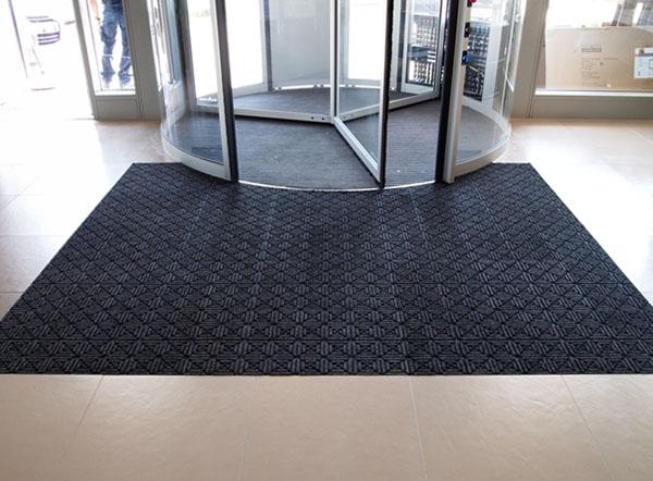 Waterhog Geometric Entrance Mat Tiles are Recessed Floor Tiles by ...