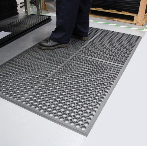 Worksafe Light Anti Fatigue Drainage Mats Are Worksafe Light Mats By American Floor Mats