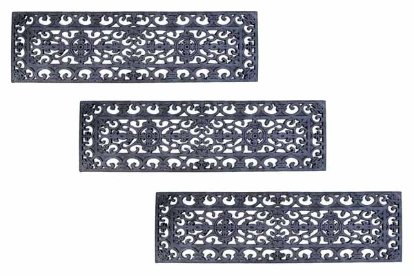 Fleur Di Lys Rubber Stair Treads Are Rubber Stair Treads