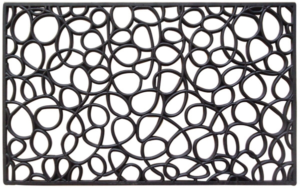 loop recycled rubber door mats - Rubber Door Mat