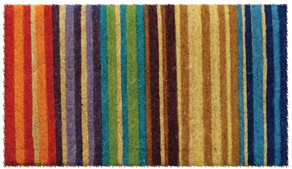 Rainbow Welcome Cocoa Door Mats Are Door Mats By American