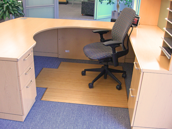 bamboo roll up chair mats are bamboo office desk mats by american