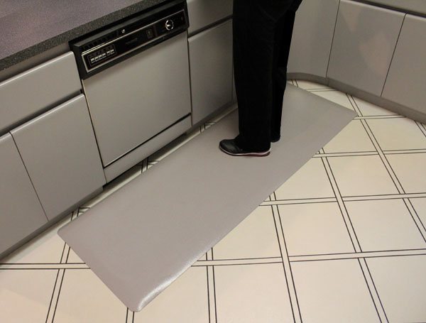 Anti Fatigue Kitchen Mats: Textured Surface