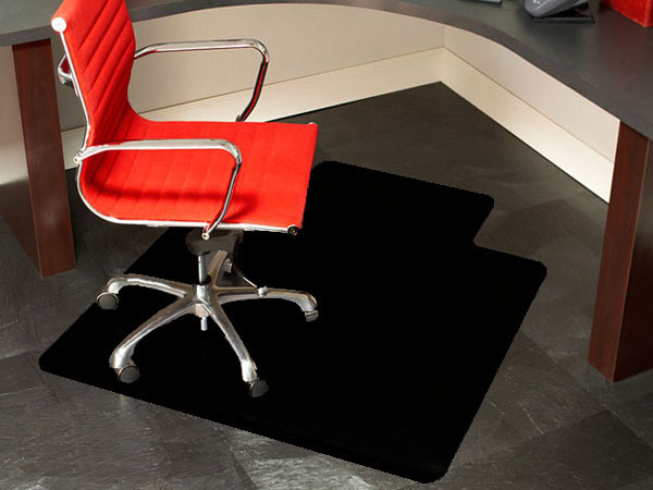 premium black chair mats are black desk mats by american floor mats