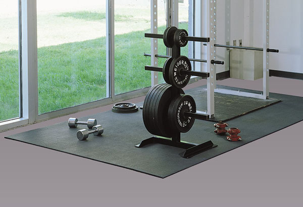 Buffalo gym mats are fitness room and exercise floor