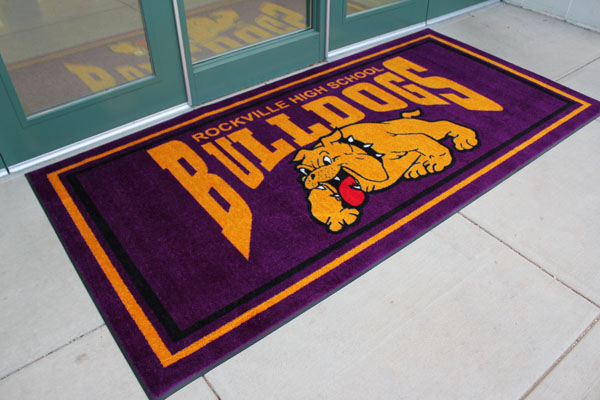Jet Print School Logo Mats Are School Logo Floor Mats By
