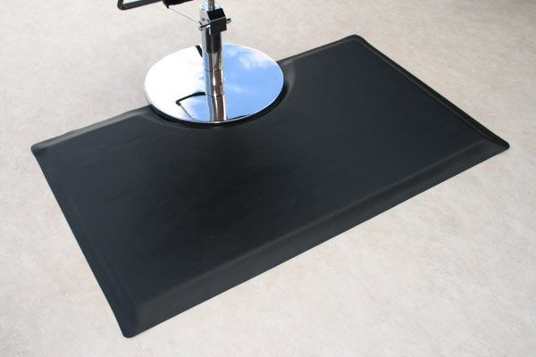 Classic Black Salon Mats Are Salon Mats By American Floor Mats