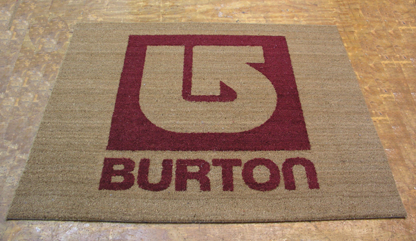 Cocoa Inlay Logo Mats Are Custom Coco Mats By American