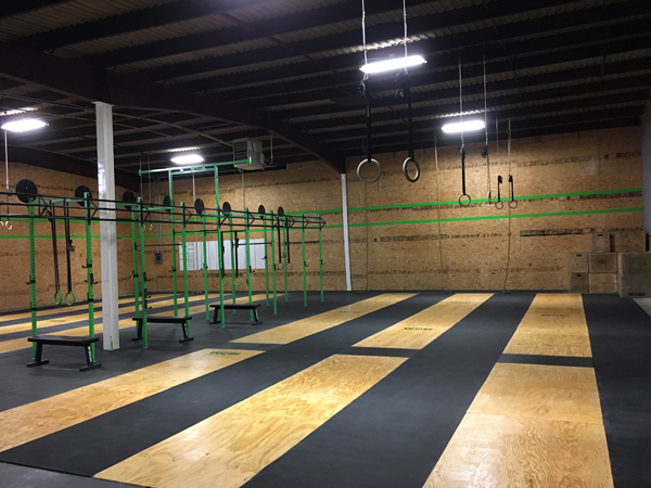 Crossfit Rubber Roll Matting Is Crossfit Rubber Flooring
