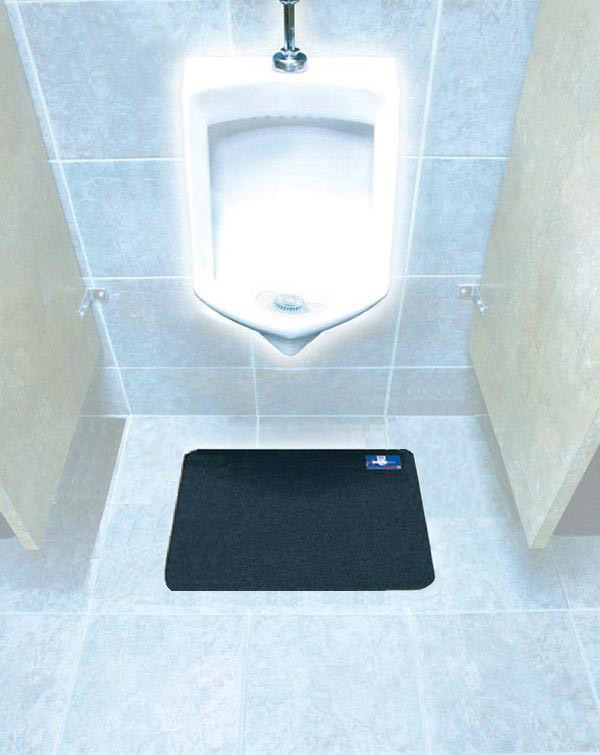 Disposable Hygienic Urinal Mats Are Disposable Bathroom Mats With Adhesive Strip Backing By
