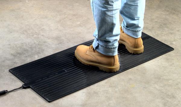 Heated Floor Mat Heavy Duty Foot Warmer Are Electric
