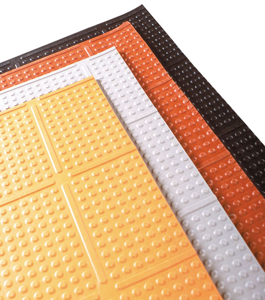 Knob Top Kitchen Mats Are Rubber By American