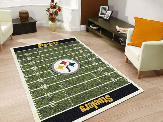nfl home field sports team rugs | american floor mats