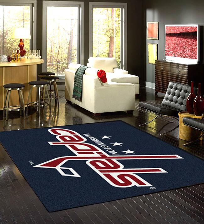 Nhl team spirit sports rugs american floor mats
