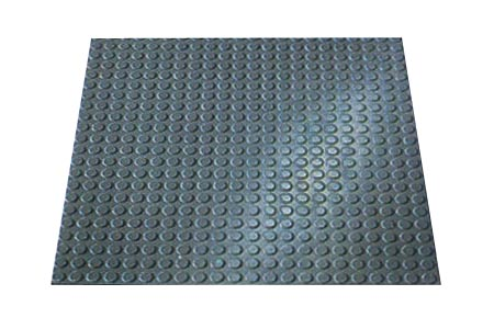 Circular Disk Floor Tiles Are Rubber Floor Tiles By American Stair
