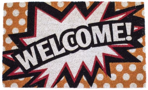 Comic Welcome Non Slip Coir Doormats Are Doormats By