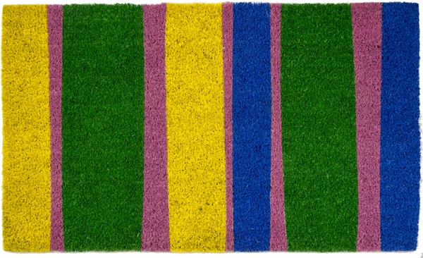 Bands Of Color Non Slip Coir Doormats Are Doormats By