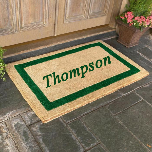 Charmant Personalized Coco Door Mats