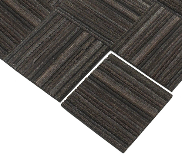 Recessed Recycled Rubber Tire Tiles Are Recessed Mats By American Floor Mats