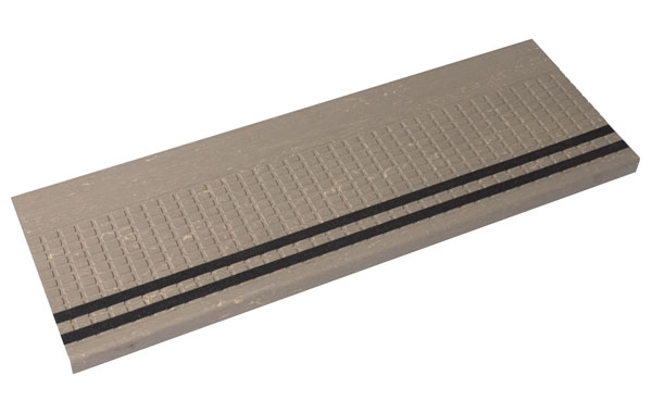 Delicieux Squaretread Rubber Stair Treads With Grit Tape