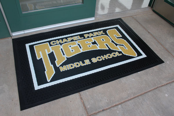 Rubber Scraper School Logo Mats Are School Mats American