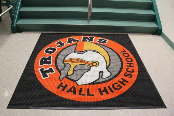 Waterhog School Logo Mats are School Floor Mats | American Floor Mats