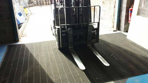 Waterhog Forklift Truck Mats Are Fork Lift Truck Mats By