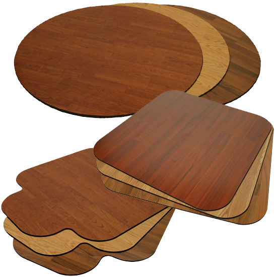 avant garde snap mat wood chair mats