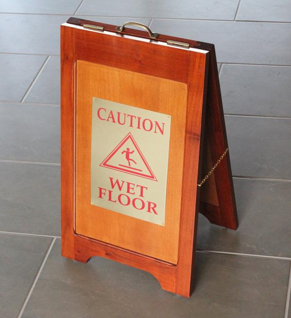 Wood Wet Floor Signs Are Wooden Wet Floor Stands