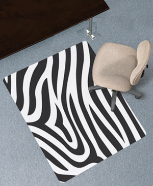 predesigned chair mats carpeted surfaces