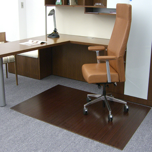bamboo chair mats are bamboo tri fold office mats desk mats by american chair mats. Black Bedroom Furniture Sets. Home Design Ideas