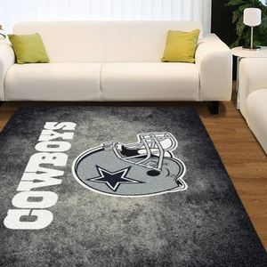 NFL Distressed Sports Team Rugs