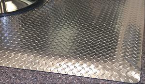 Diamond Deckplate Salon Mats Anti Fatigue Salon Chair