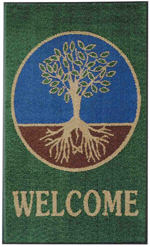 Natural Welcome Mats Are Welcome Rugs By American Floor Mats