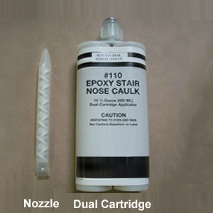 Epoxy Stair Tread Nose Caulk By American Stair Treads