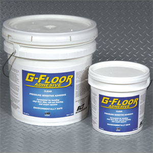 Garage Floor Pressure Sensitive Adhesive