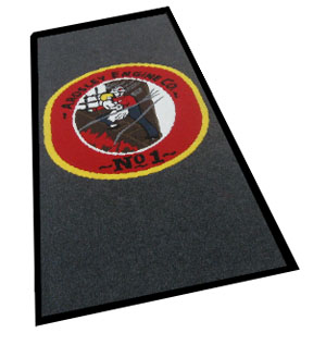 Super Brush Logo Mats