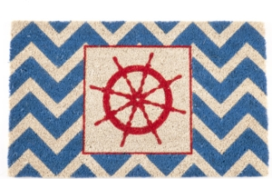 The Wheel Non Slip Coir Doormat