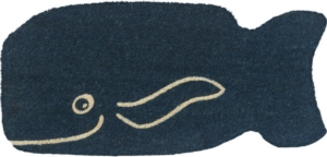 Friendly Whale Non Slip Coir Door Mats