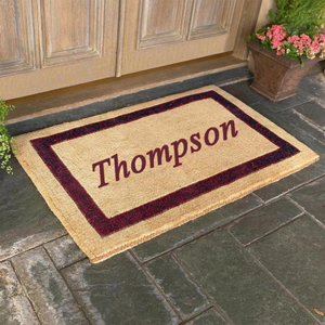 Personalized Coco Door Mats