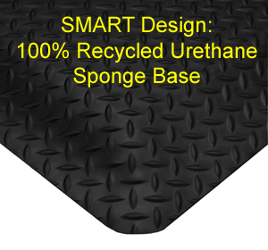 SMART Diamond Plate Anti-Fatigue Mats