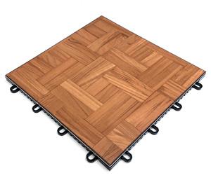 Portable Teak Dance Floor Tiles are Interlocking Garage ...