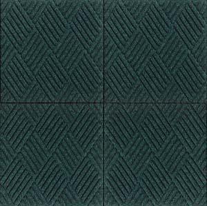 Waterhog Premier Entrance Mat Tiles Are Recessed Floor