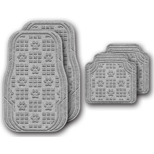 Waterhog Car Mats - Paw Print
