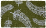 Feathers Handwoven Coconut Fiber Doormat