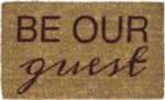 Be Our Guest Handwoven Coconut Fiber Door Mats