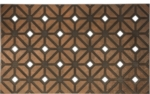 Rhombus Weave Recycled Rubber Door Mats