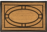 Ellipse 24x36 Recycled Rubber & Coir Door Mats