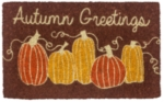 Autumn Greetings Handwoven Coconut Fiber Door Mats